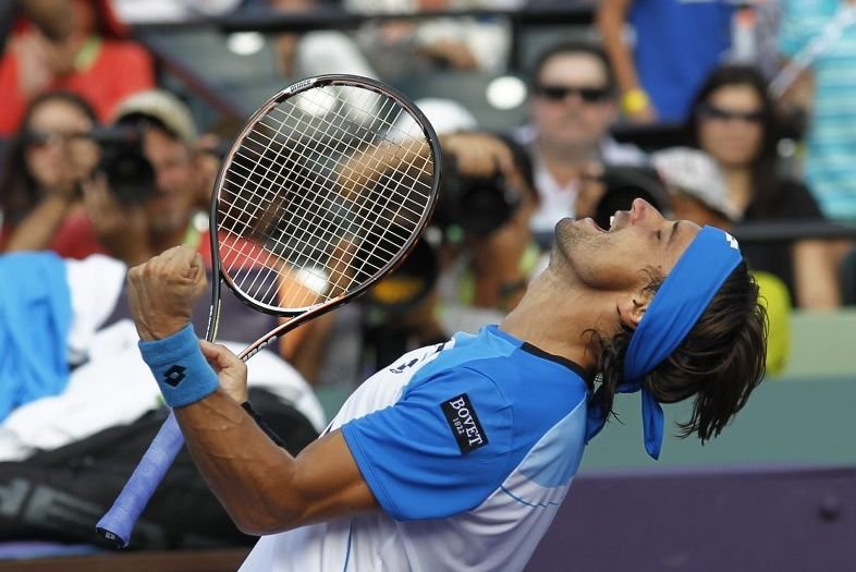 David Ferrer... (PHOTO ANDREW INNERARITY, REUTERS)