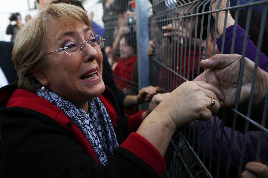Michelle Bachelet, 61 ans, a reçu un accueil... (Photo : Ivan Alvarado, Reuters)