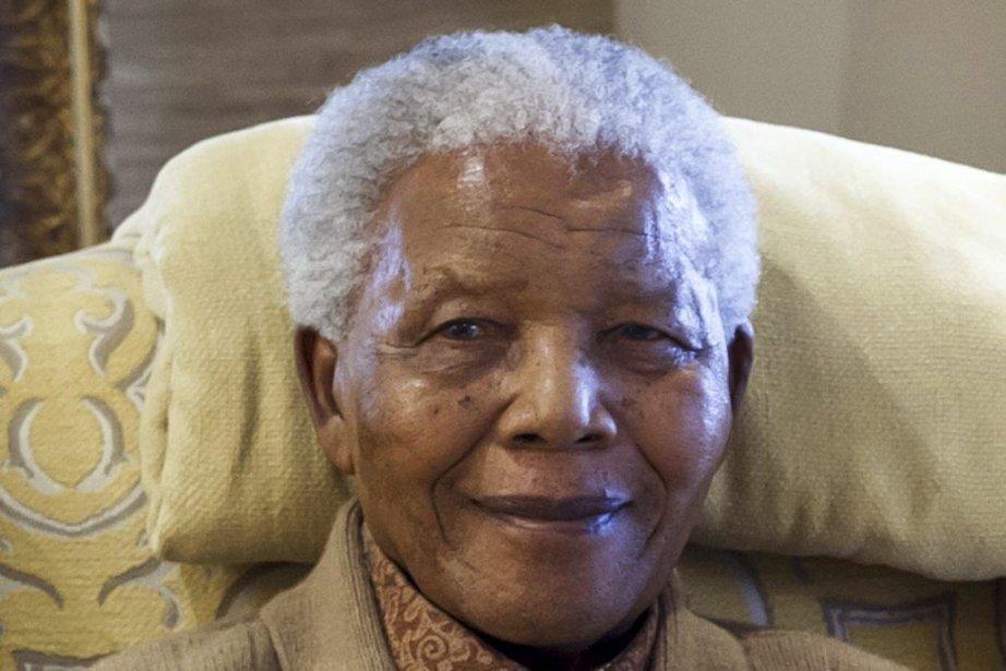 Nelson Mandela à son 94e anniversaire, en 2012.... (PHOTO BARBARA KINNEY, ARCHIVES AFP)