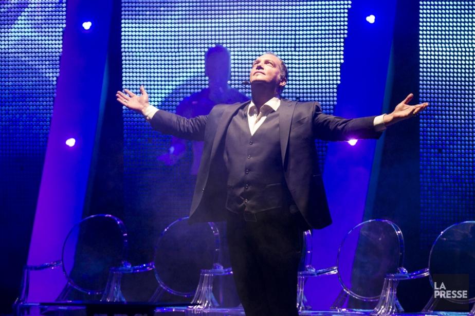 Messmer à la première de son nouveau spectacle,... (Photo Olivier Pontbriand, La Presse)