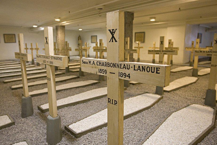 Au sous-sol de la maison mère, la crypte... (Photo: Alain Roberge, La Presse)
