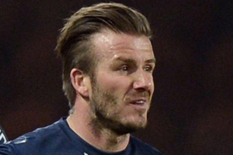 David Beckham... (Photo : Franck Fife, AFP)
