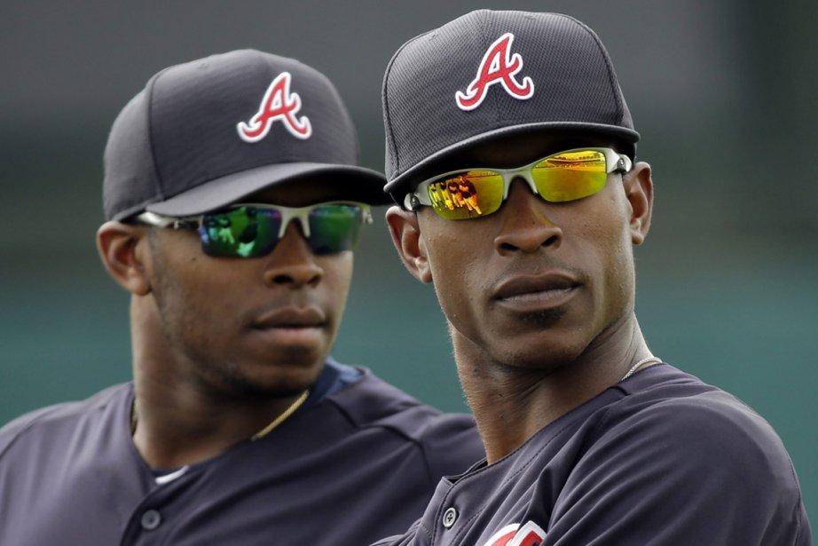 Justin Upton et son frère B.J. sont très... (Photo : David J. Phillip, archives AP)
