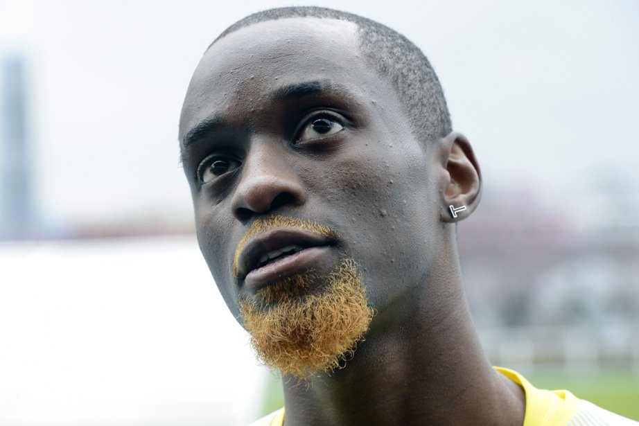 Teddy Tamgho s'était fracturé la cheville droite en... (Photo : Philippe Merle, AFP)