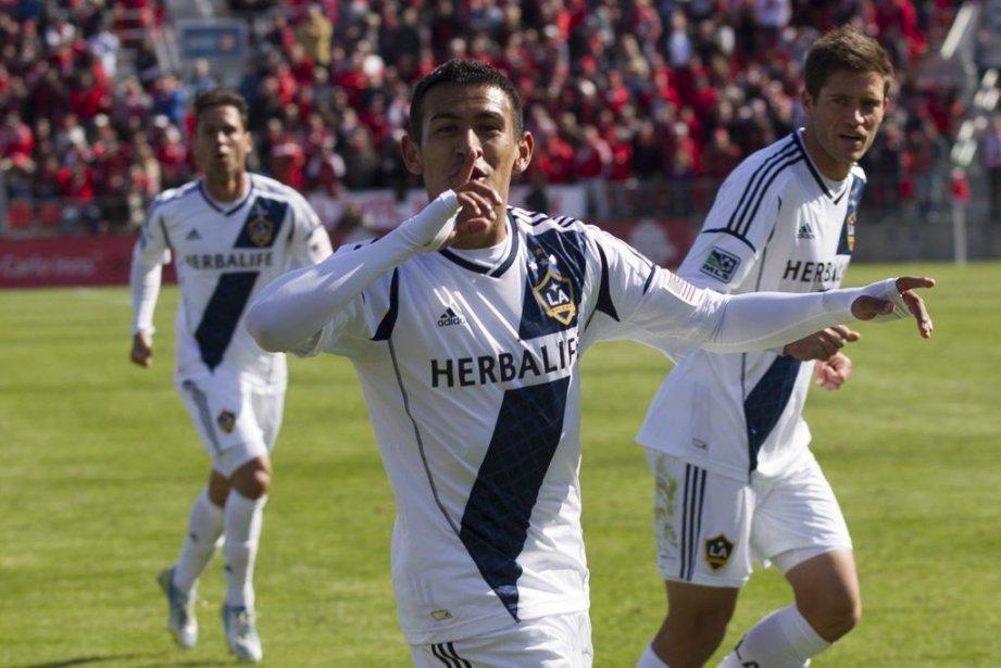 Jose Villarreal a inscrit le but égalisateur dans... (PHOTO CHRIS YOUNG, PC)