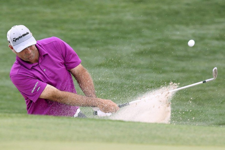 Stewart Cink n'a pas gagné lors de ses... (PHOTO PATRIC SCHNEIDER, AP)