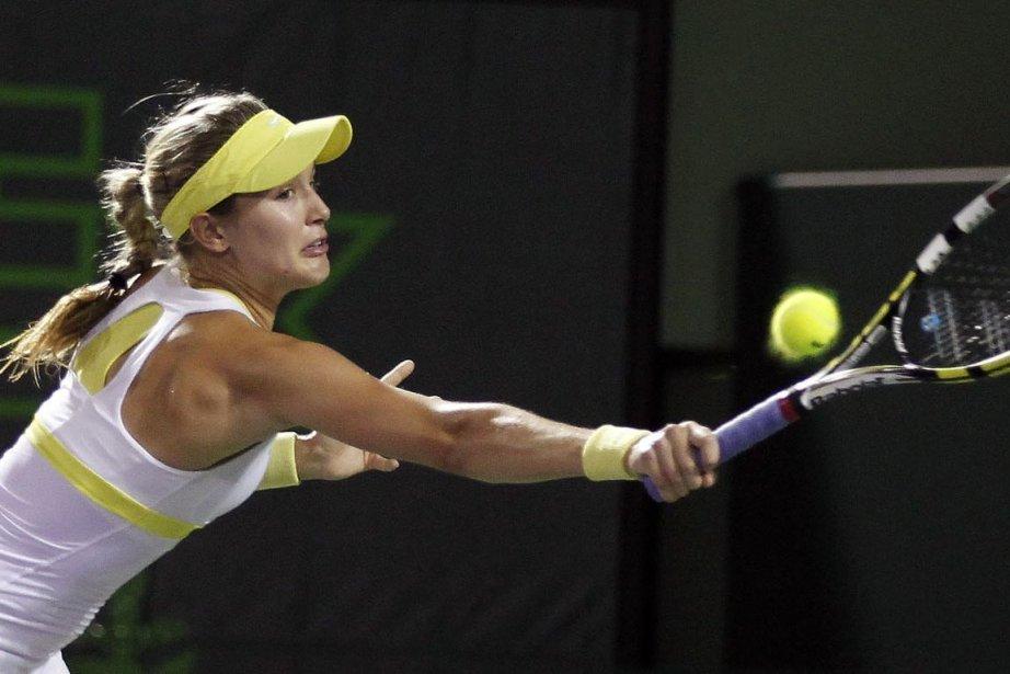 La Québécoise Eugenie Bouchard a remporté son match... (Photo Andrew Innerarity, archives REUTERS)