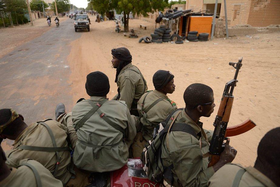 Sur cette photo de janvier dernier, des soldats... (Photo: archives AFP)