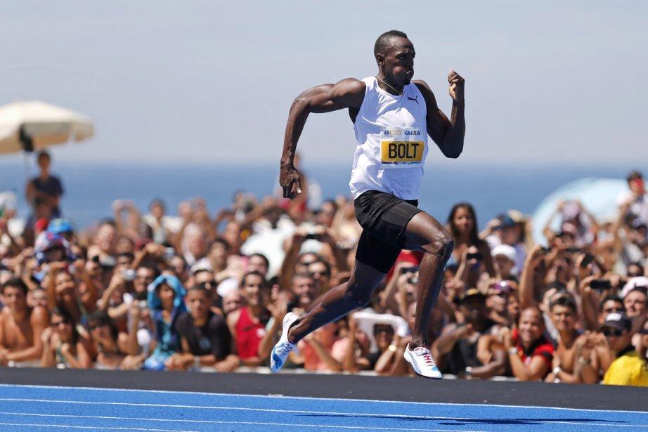 Usain Bolt... (Photo : Sergio Moraes, Reuters)