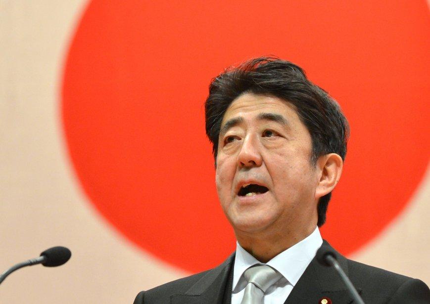 Le premier ministre du Japon,Shinzo Abe.... (PHOTO KAZUHIRO NOGI/ AFP)