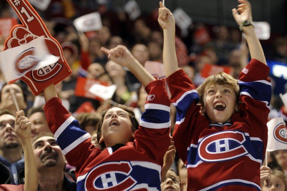 L'atmosphère était autrement plus guillerette qu'à la même... (Photo : Bernard Brault, archives La Presse)