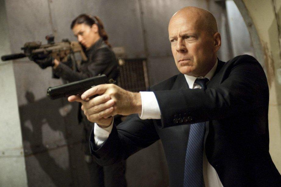 DansG.I. Joe: Conspiration, Bruce Willis tente de sauver... (PHOTO FOURNIE PAR PARAMOUNT)