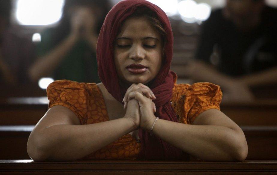 Des chrétiens se recueillent en Inde à l'occasion de Pâques. | 31 mars 2013