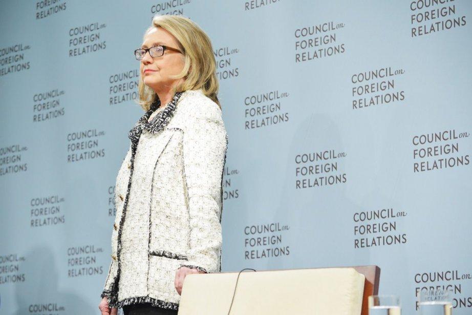 Hillary Clinton, l'ex-secrétaire d'État des États-Unis.... (PHOTO MANDEL NGAN, AFP)