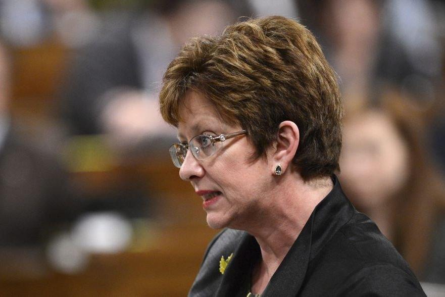 Diane Finley, ministre des Ressources humaines et du... (Photo La Presse Canadienne)