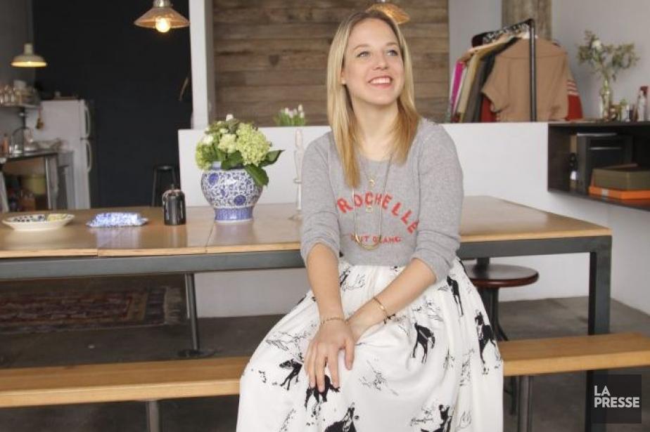 YANNICK FLEURY/LA PRESSELotta Nieminen dans son appartement ˆ...