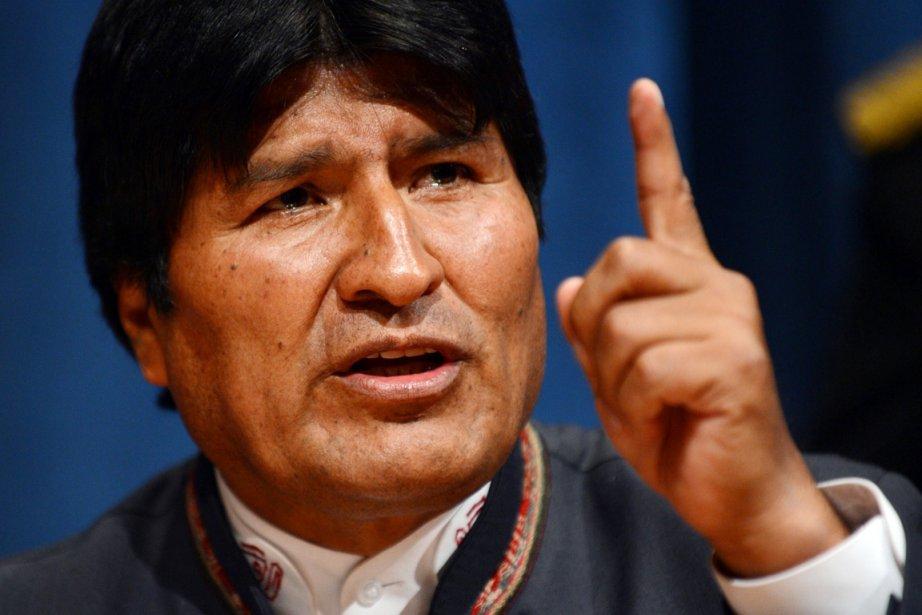 Evo Morales, président depuis 2006, est particulièrement actif... (PHOTO STAN HONDA, ARCHIVES AFP)