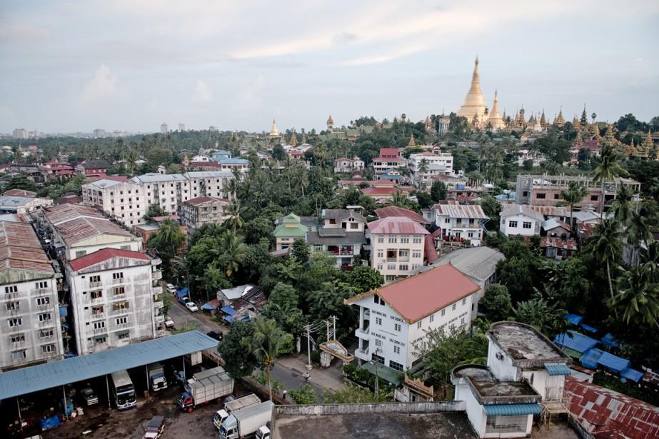 La ville de Rangoun... (Photos.com)