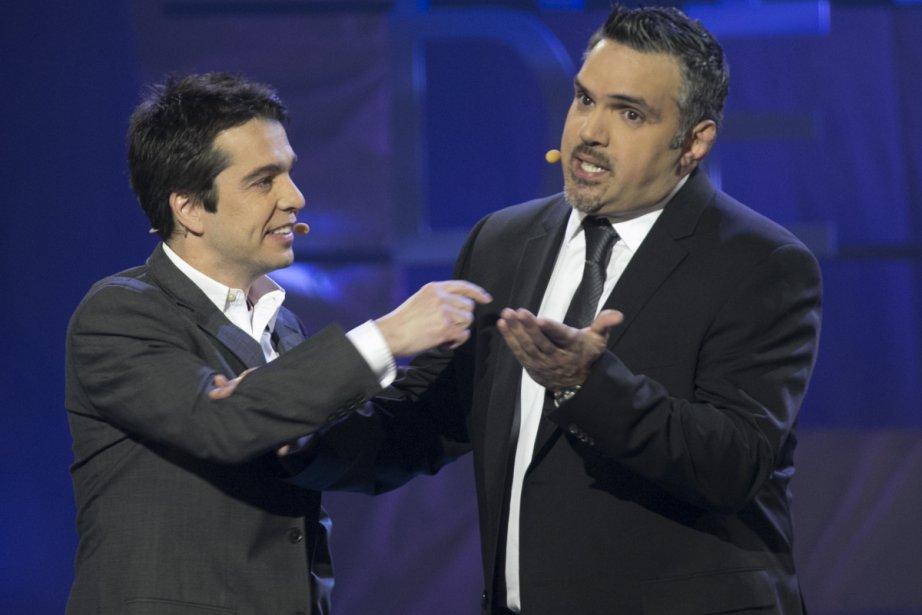 Le gala sera animé par Dominic & Martin.... (Photo: André Pichette, La Presse)