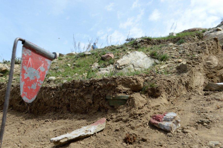 La dernière victime, un homme kutchi, une tribu nomade afghane, a perdu une jambe il y a six mois alors qu'il faisait paître du bétail. | 3 avril 2013