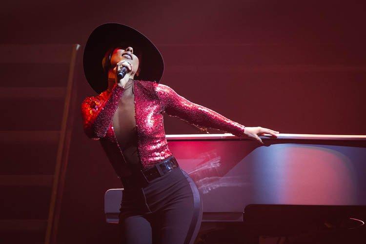 Alicia Keys a tous les talents.... (Photo: Édouard Plante-Fréchette, La Presse)