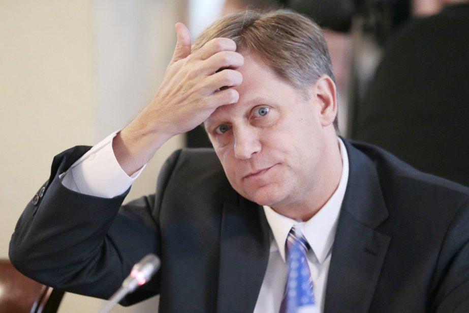 Dans un discours devant la Chambre civile, l'ambassadeur... (PHOTO MIKHAIL METZEL, AP)