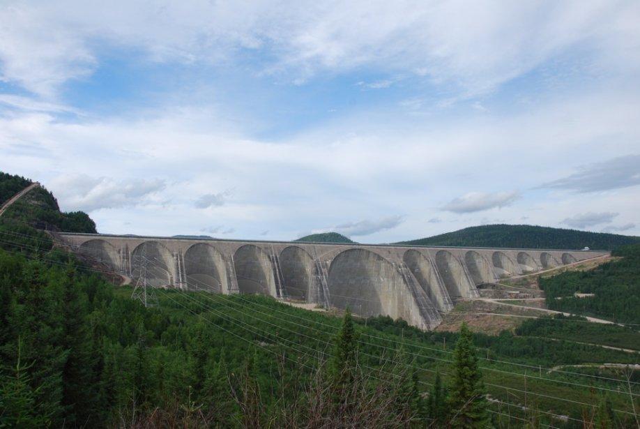 Le barrage hydro-électrique Manic 5.... (Photo Simon Diotte, collaboration spéciale)