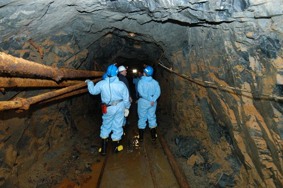 Une vue de la mine d'or du Lac... (La Presse Canadienne)