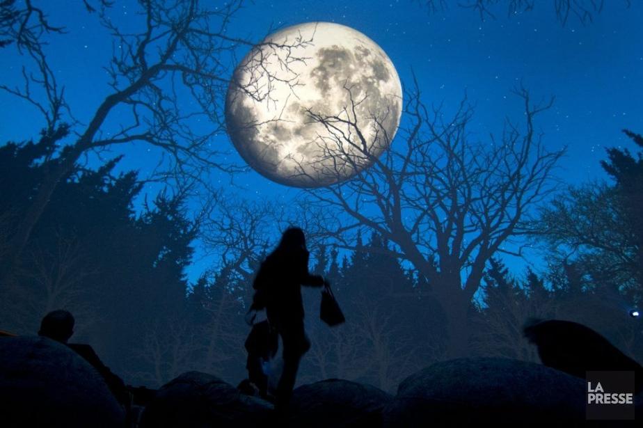 Le nouveau Planétarium ouvrira samedi.... (Photo Robert Skinner, La Presse)