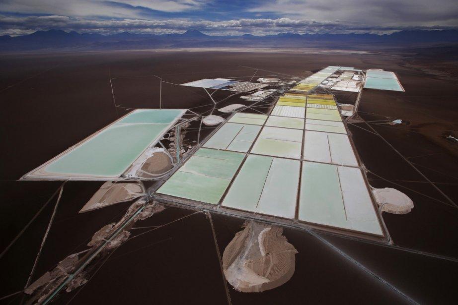Complexe de transformation du Lithium dans le désert de l'Atacama au Chili. | 5 avril 2013