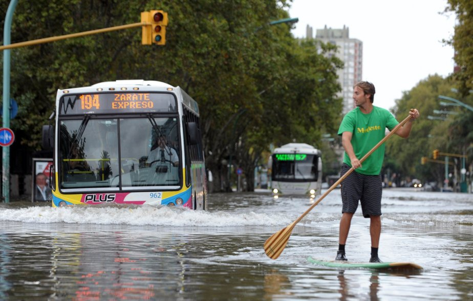 Inondations à Buenos Aires | 5 avril 2013