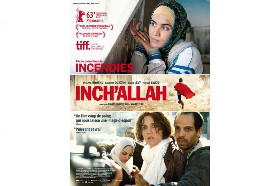 La version française de l'affiche d'Inch'Allah.... (Photo: La Presse)