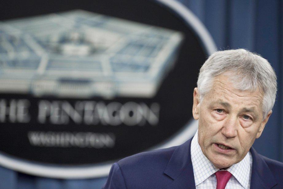 Le grand patron du Pentagone Chuck Hagel.... (PHOTO PAUL J. RICHARDS, ARCHIVES AFP)