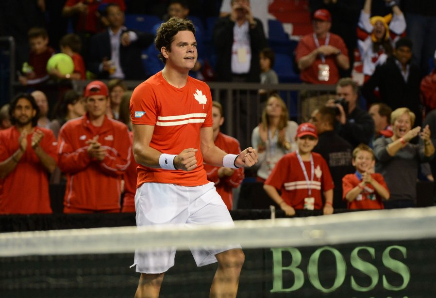 Le Canadien Milos Raonic.... (Photo Don MacKINNON/ AFP)