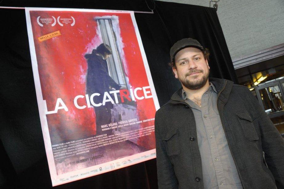 Jimmy Larouche... (Photo Gimmy Desbiens, Le Quotidien)