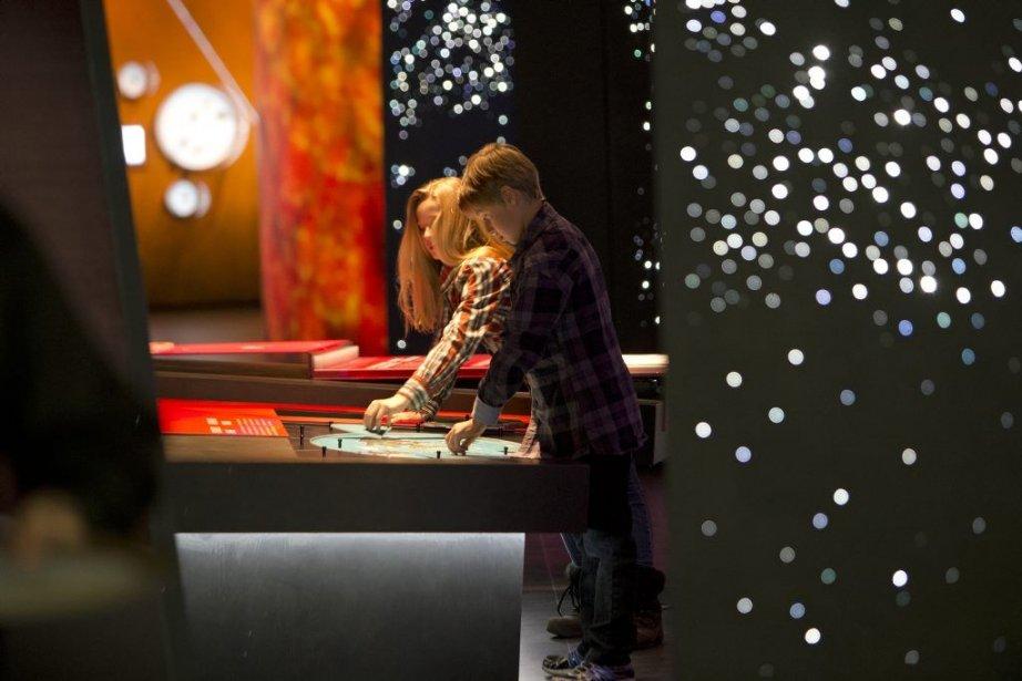 Le nouveau Planétarium ouvre ses portes au public... (Robert Skinner)