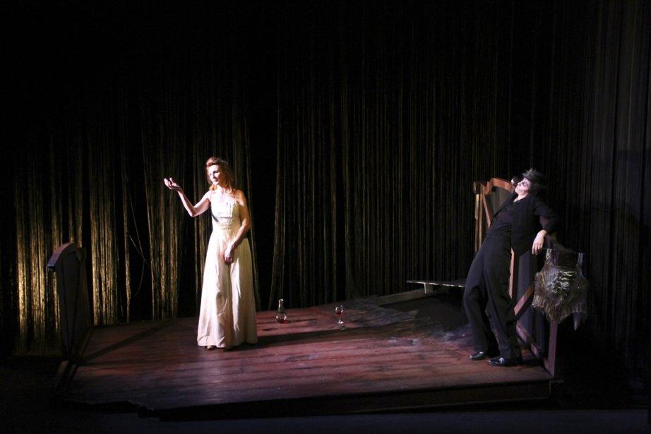 Cette mise en scène de Quartett est d'autant... (Photo fournie par Les Songes Turbulants)