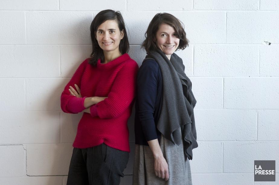 Mouna Andraos et Melissa Mongiat, vedettes montantes de... (Photo Robert Skinner, La Presse)