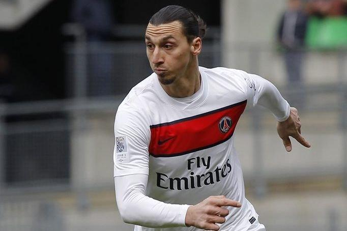 Zlatan Ibrahimovic... (Photo Stéphane Mahe, Reuters)
