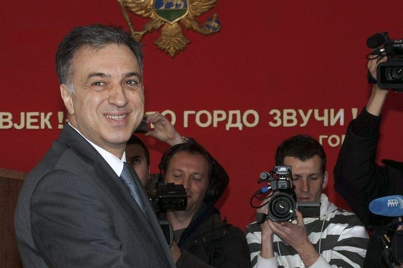 Le président sortant Filip Vujanovic.... (Photo AP)