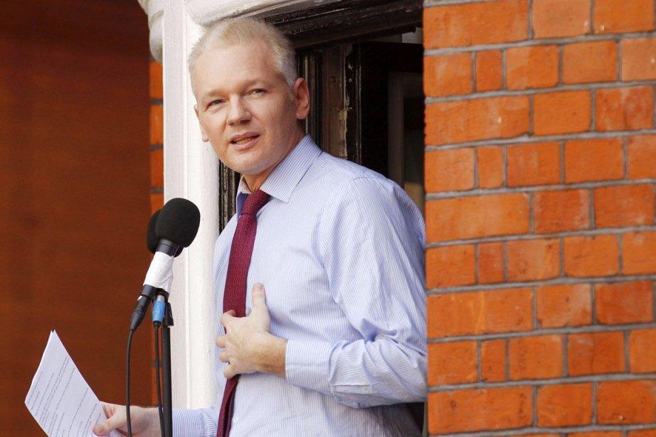 Julian Assange, fondateur de WikiLeaks.... (PHOTO SANG TAN, ARCHIVES AP)