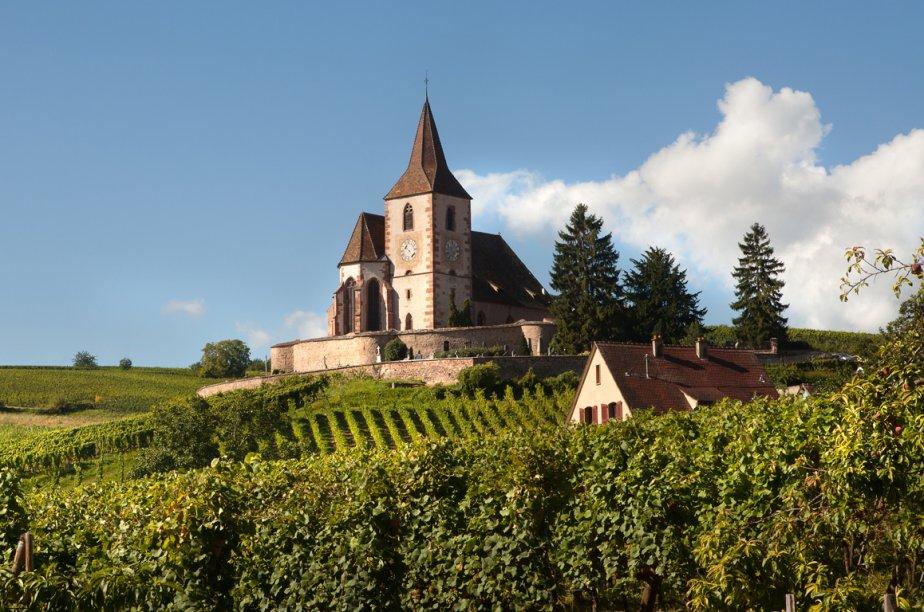 L'opération «Paris fête les vins d'Alsace», organisée par Le... (Photo RelaxNews)