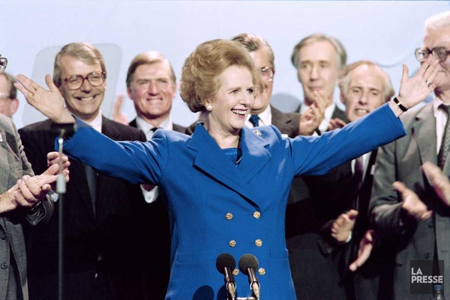 Margaret Thatcher adresse les partisans réunis dans le cadre du... | 2013-04-08 00:00:00.000