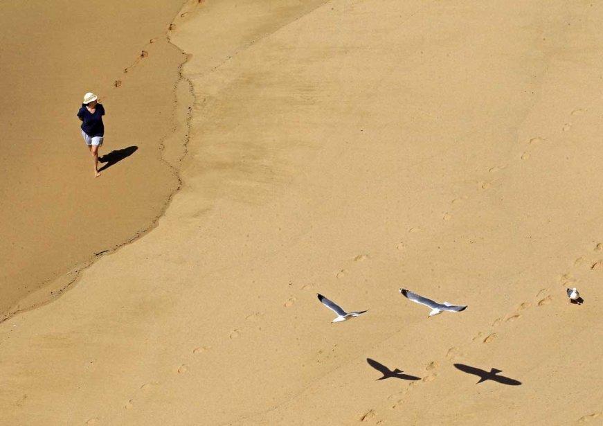 La plage d'Ericeira au Portugal | 8 avril 2013