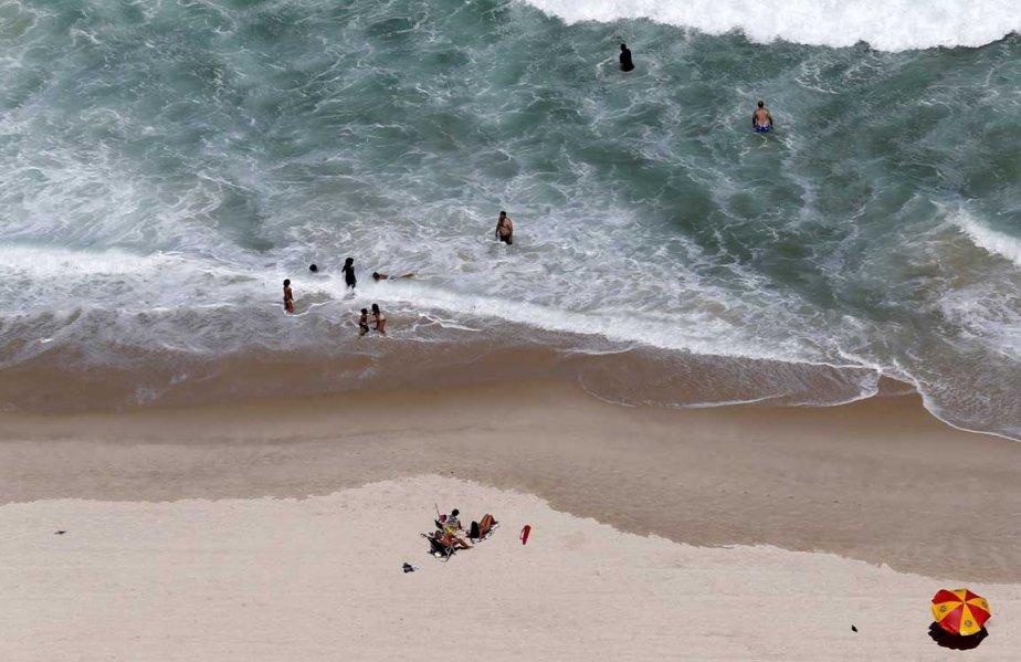 La plage de Copacabana au Brésil | 8 avril 2013