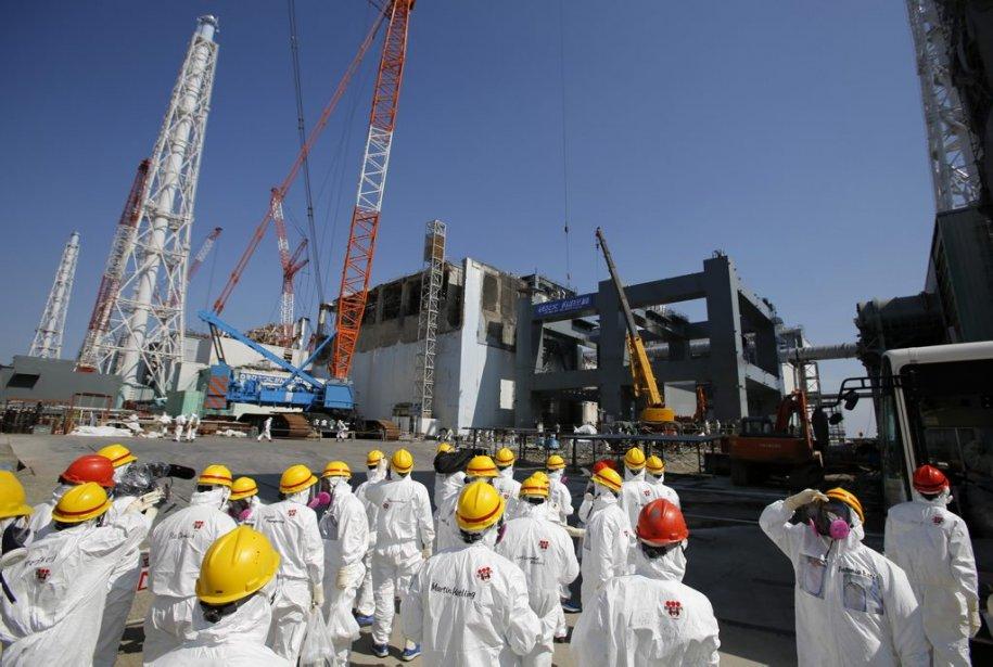 Le chantier s'annonce titanesque pour assainir le site... (Photo Issei Kato, AP)