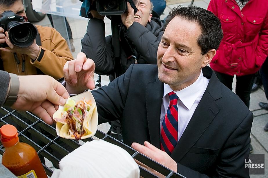 Le maire de Montréal, Michael Applebaum, a annoncé... (Photo André Pichette, archives La Presse)