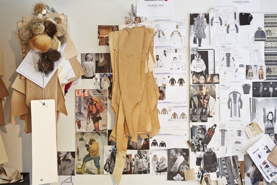 Dans l'atelier de la designer Mariouche Gagné, tout peut servir à la création. | 10 avril 2013