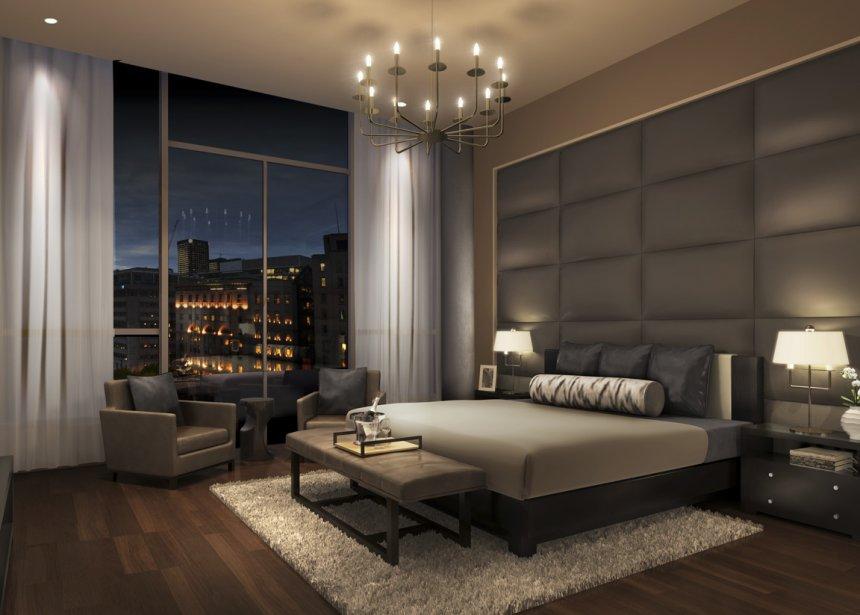 Les appartements, aux plafonds d'un minimum de 11 pieds de haut, auront d'immenses fenêtres pour profiter de la vue. | 10 avril 2013