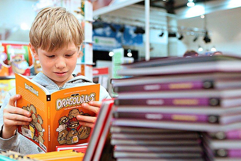 L'offre québécoise en bandes dessinées est diversifiée s'adresse... (Photo le soleil, Pascal Ratthé)